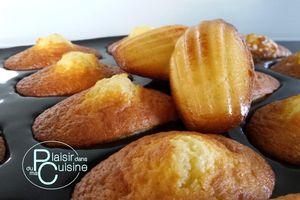 Madeleines de Commercy, au Cook'in