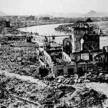 6 ET 9 AOÛT 1945 : IL Y A SOIXANTE-DIX ANS, HIROSHIMA ET NAGASAKI, DEUX CRIMES MAJEURS CONTRE L'HUMANITÉ