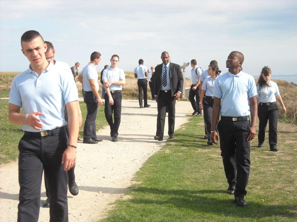 26 septembre 2013-visite de collégiens de la Haute-Marne. Ils ont été accueillis et guidés par René Richard, président délégué de l'association Aux Marins. Photographies : Nicole Agéa