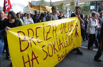 [ Photos ] Manifestations contre la réforme des retraites - Guingamp / Gwengamp