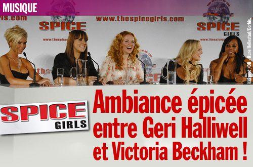 Spice Girls : ambiance épicée entre Geri Halliwell et Victoria Beckham !