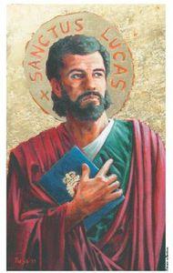 Saint Luc, scribe de la miséricorde
