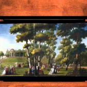 An 18th-century Motion Picture: Carmontelle's Figures Walking in a Parkland