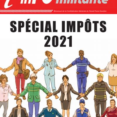 L'InFOmilitante spécial Impôts 2021