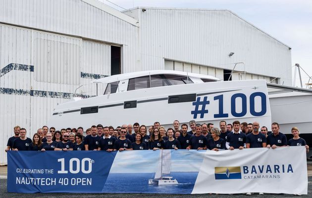 Multihulls - Nautitech 40 Open number 100 sails across the Atlantic