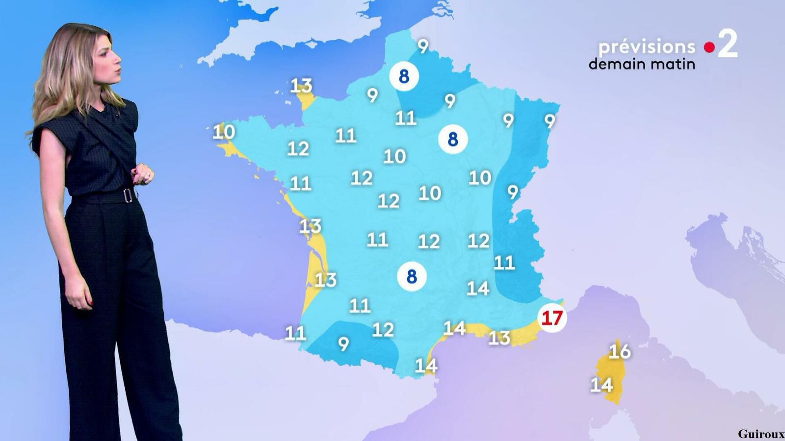 Chloé Nabédian 20/09/2021 Journaux météo du midi