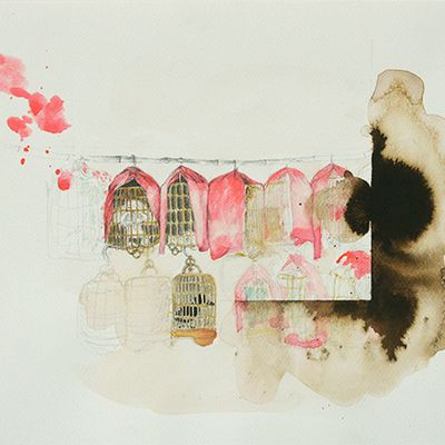 """Esoteric and Reimagined Religious Rituals Lay the Ground for """"Carne Vale"""" at Galerie Quynh"""