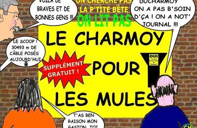 UN SUPPLÉMENT AU « CHARMOY POUR LES MULES » : CHANTECLER n° 14 bis - du 21 NOVEMBRE 2015 (J+2530 après le vote négatif fondateur)