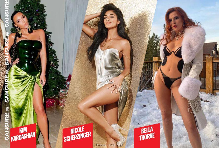 Les stars les plus sexy des fêtes ! (Diaporama) #sexy