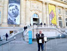 Exposition HERGE , vu par Alain Escaudemaison