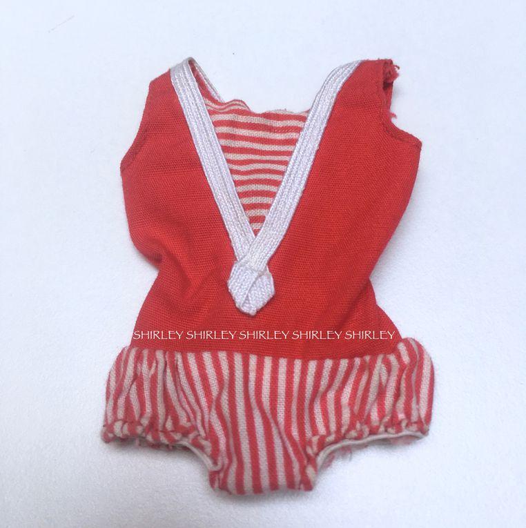 """STRAIGHT LEGS"" SKIPPER DOLL CLOTHES 1964 MATTEL #950"