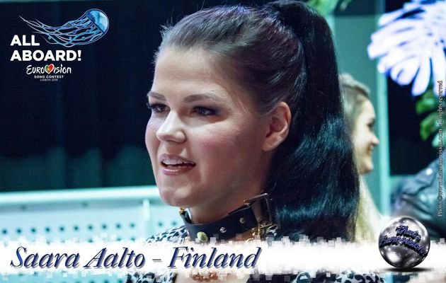 Finland 2018 - Saara Aalto - Lead your own life and live your life how you want!