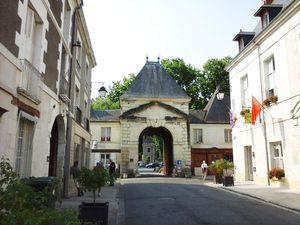 L'entrée du parc et l'allée principale (photos MP)