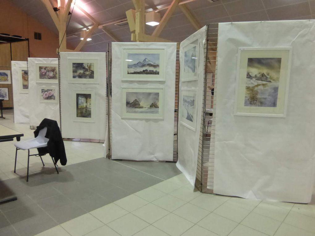 Deux Salles d'exposition - Centre Jean Jaurès et Salle du Maroc