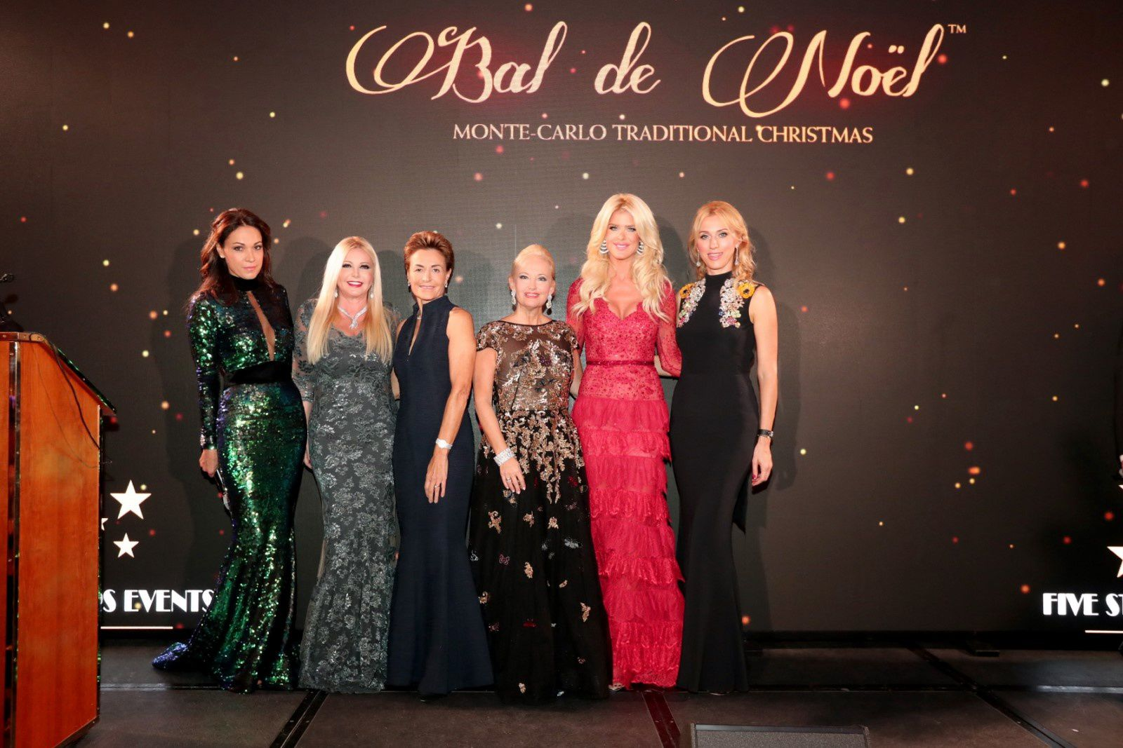 MONACO 15TH EDITION OF THE BAL DE NOEL