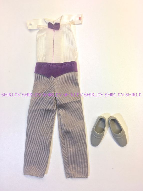 TODD GROOM DOLL CLOTHES 1982 MATTEL#4253