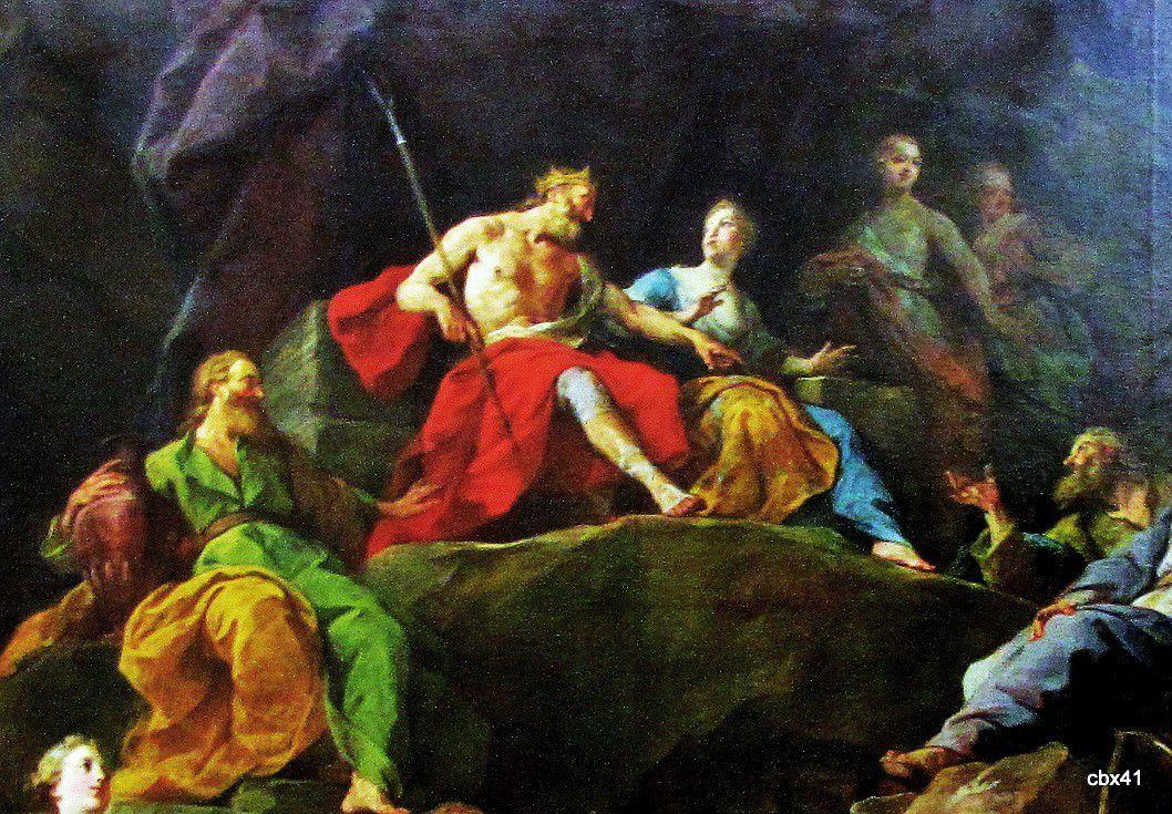 Jean Restout, Orphée descendu aux Enfers pour demander Eurydice ou La musique