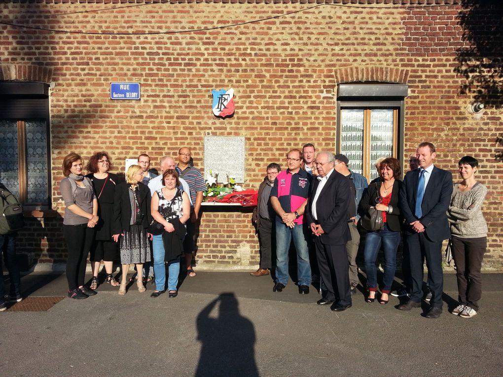 Photos des commémorations à Hénin-Beaumont