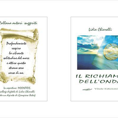 """""""IL RICHIAMO DELL'ONDA"""" recueil de poèmes de Lidia Chiarelli, Edizioni Vitale Sanremo 2020"""