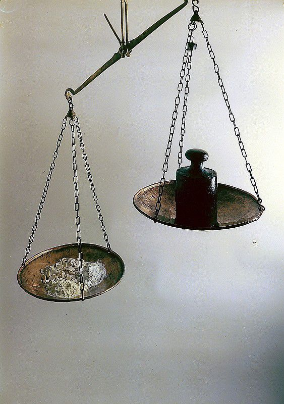 Des poids et des mesures ...