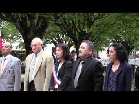 Vidéo Harkis Dordogne - Commémoration à Périgueux ( Abandon des Harkis 12 mai 1962 - 2014)