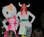 Nuit Blanche 11: vidéo des Hyber-héros au jardin des Batignolles