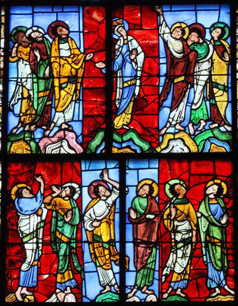 """""""Galiléens, pourquoi restez-vous là à regarder vers ciel?""""... Il s'agit de regarder en soi pour discerner l'émergence de l'Esprit Saint qui nous relève pour le bien du Corps entier..."""