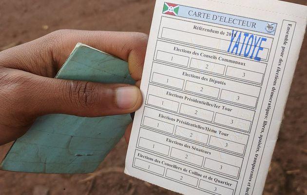 Le oui largement en tête au référendum constitutionnel au Burundi