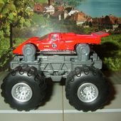 BIG FOOT FERRARI 512M HOT WHEELS 1/64 - car-collector.net