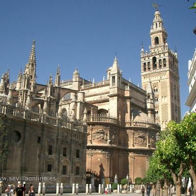 Séville, la Giralda et sa splendide Cathédrale