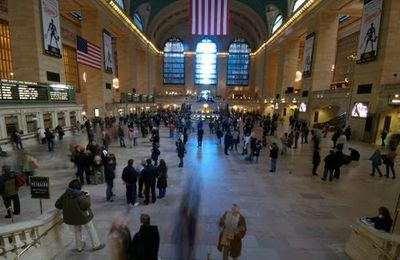 FLASHMOB -Freezing Central Station New York