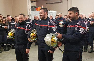 Salies-du-Salat. Pompiers :Cédric Sorribas succède à Jean-Jacques Albert