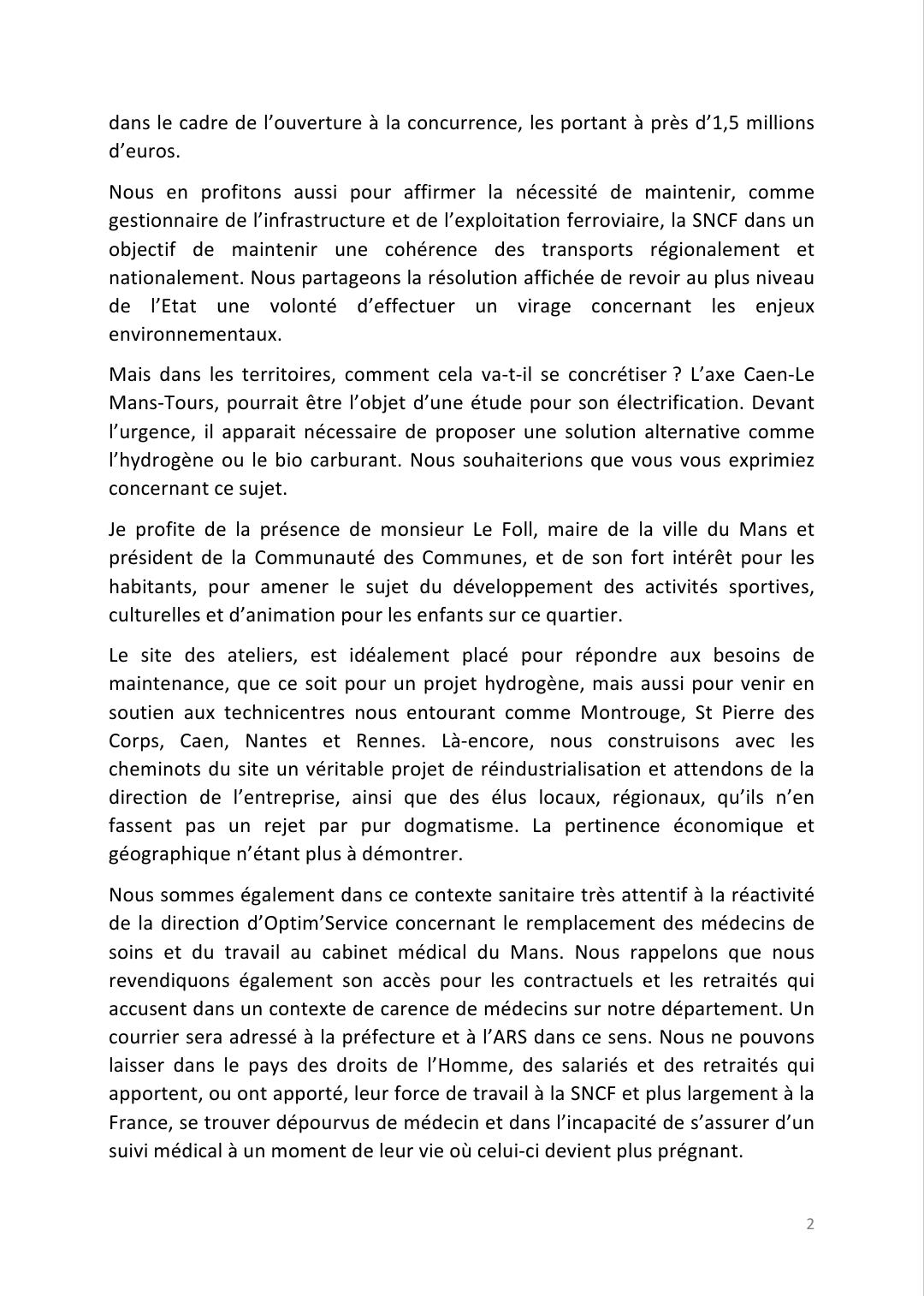 17 Mars 2021 : Rassemblement CGT et interpellation de M. Farandou. Merci aux hospitaliers et cheminots présents (photos et prise de parole)