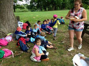 Centre Curie maternelle - groupe 4 le petit parc - 8 juillet