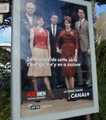 Canal+, affiches des séries cultes: Mad men, The Pacific
