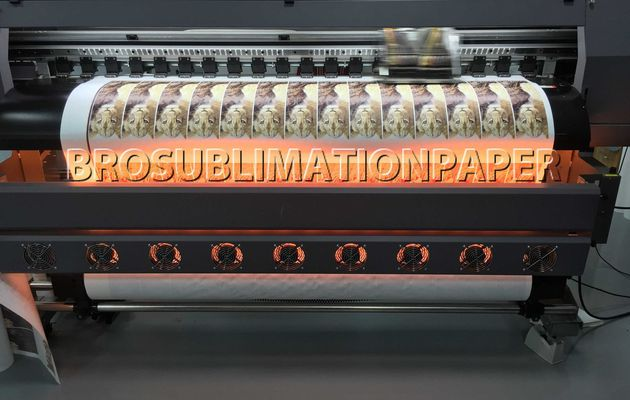 What is the advantage and disadvantage of dye sublimation paper transfer printing ?