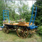 Fleurs au village de Bonneval - L'Auvergne Vue par Papou Poustache