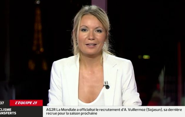 2013 10 23 - 06H40 - PERRINE STORME - L'EQUIPE 21 - LE JOURNAL