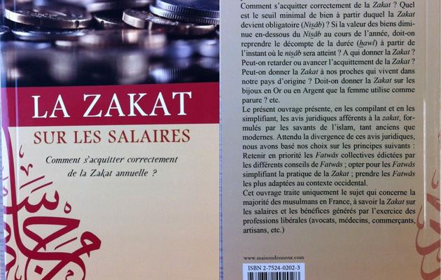 """Comment commander le livre sur """"La Zakat des salaires"""" ?"""