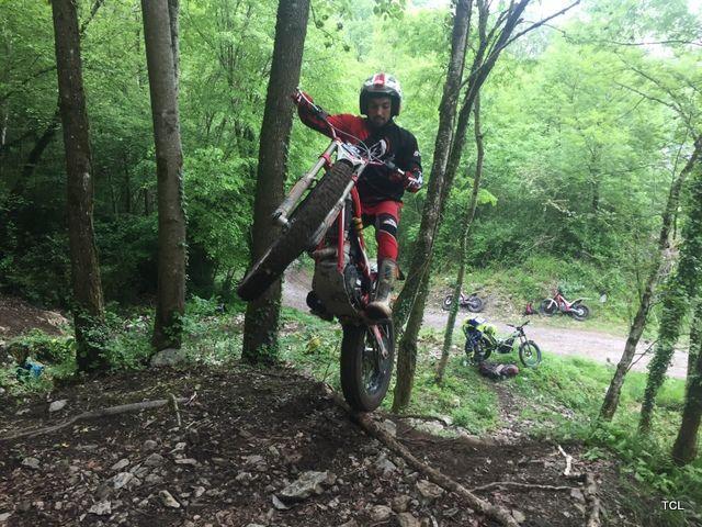 Stage Equipe de France Trial au Béout le 8 et 9 mai 2018