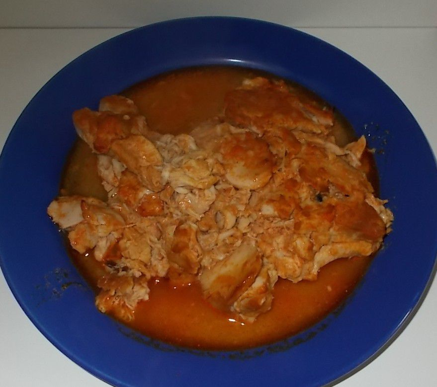 Lidl Vitasia Pulled Chicken Red Curry Mango