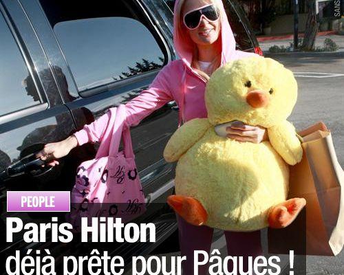Paris Hilton déjà prête pour Pâques !