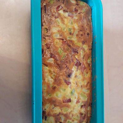 Cake courgette- jambon