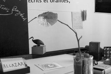 Autour de Diwãn des mots voyagés : rencontre, atelier et exposition-collecte