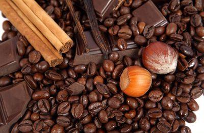 Noisettes - Café - Chocolat - Canelle - Wallpaper - Free