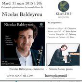 Nicolas Baldeyrou sur le Daphne - Le blog impertinent de Feeling Musique