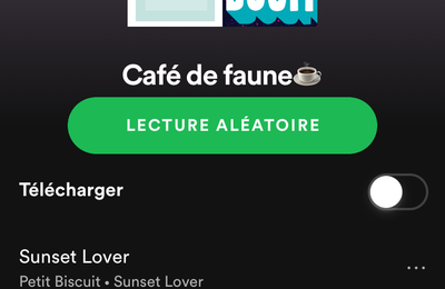 Playlist - Café de faune