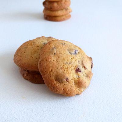 Cookies noisettes et pépites chocolat