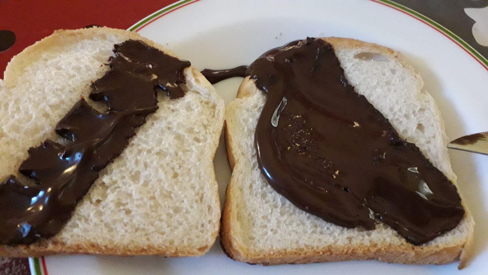 Croque monsieur au chocolat