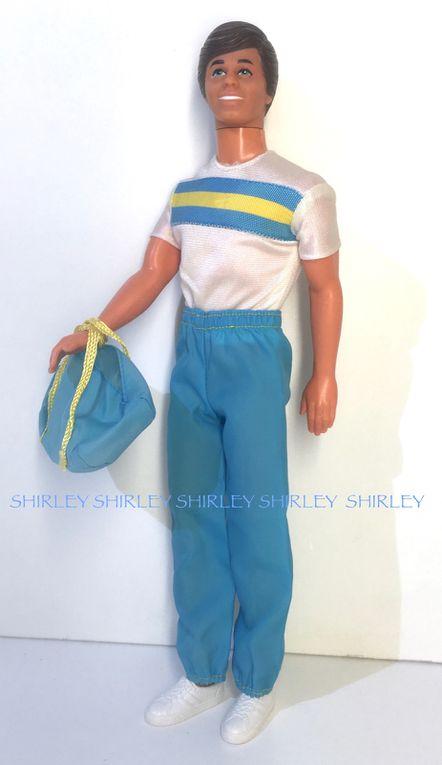 """GREAT SHAPE"" KEN DOLL CLOTHES 1983 MATTEL #7318"